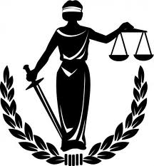 Justice femme balance et glaive