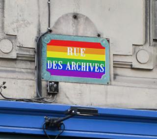 Gay plaques