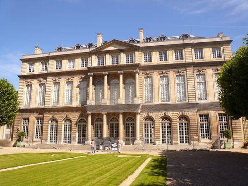 Hôtel de rohan et jardins