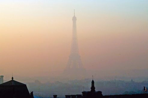 Paris pollué le figaro
