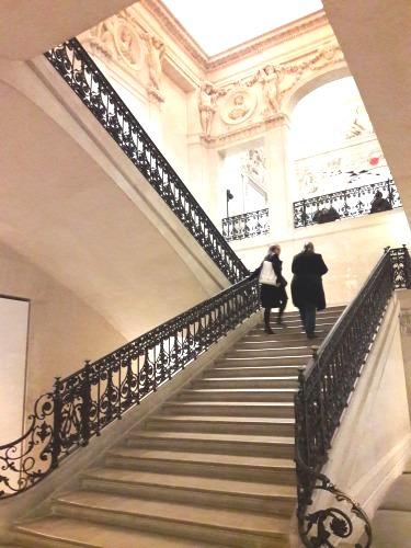 Musée picasso escalier monumental 18 02 19