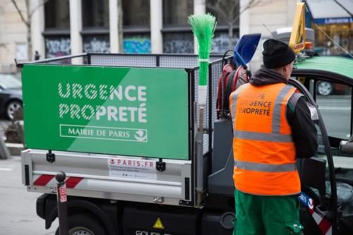 Brigade urgence propreté