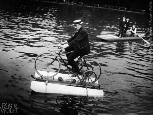 Vélo acquatique 1910
