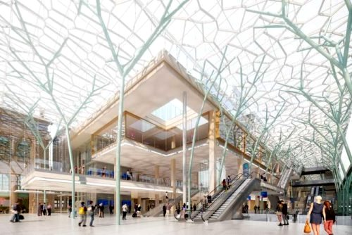 Gare du nord projet valode & pistre architectes le monde 01 10 19