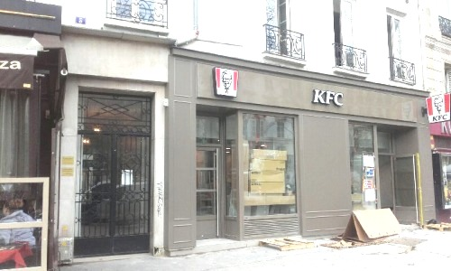 Beaumarchais 5 devanture KFC 07 03 19