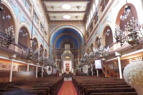 Synagogue nazareth intérieur le parisien 16 01 20