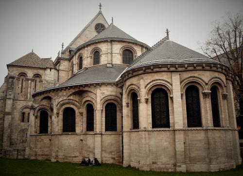 Prieuré st martin chevet chapelle 24 11 11