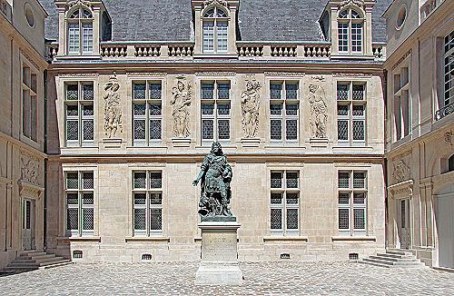 Carnavalet - Histoire de Paris cour d'honneur