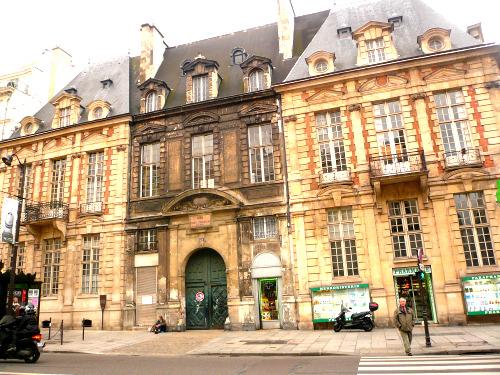 Hôtel de mayenne vue générale avant travaux 07 11 09