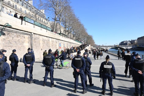 Police berges