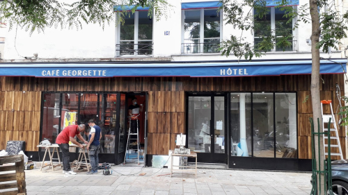 Grenier st lazare 36 hôtel georgette 10 06 21 - Raccourci