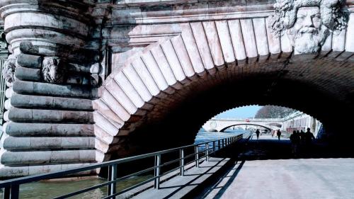 Ponts paris enfilade