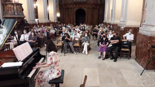 Concert 18 06 21 spectateurs piano