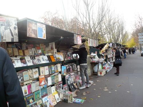 Bouquinistes des bords de Seine