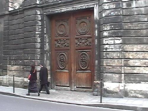 Portail de l'Hôtel Amelot de Bisseuil